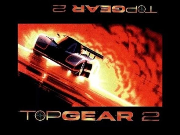 картридж (касcета) на SEGA (сега) top gear 2