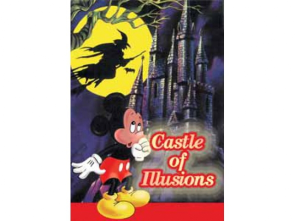 картридж (касcета) на SEGA (сега) Castle of illusion