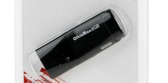 Флеш-накопитель USB 32 gb OltraMax 240 черный