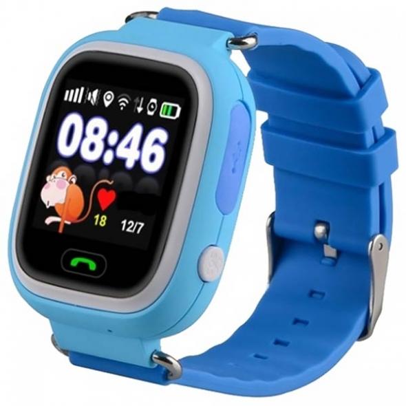 умные детские часы  Q80 ( смарт часы, smart watch Q80 ) с треком, GPS