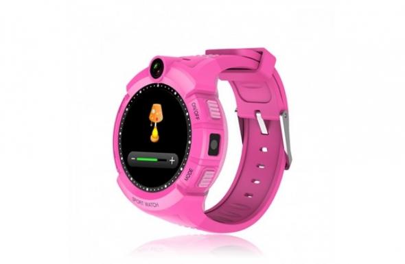 Умные часы Q520 S розовые оригинал