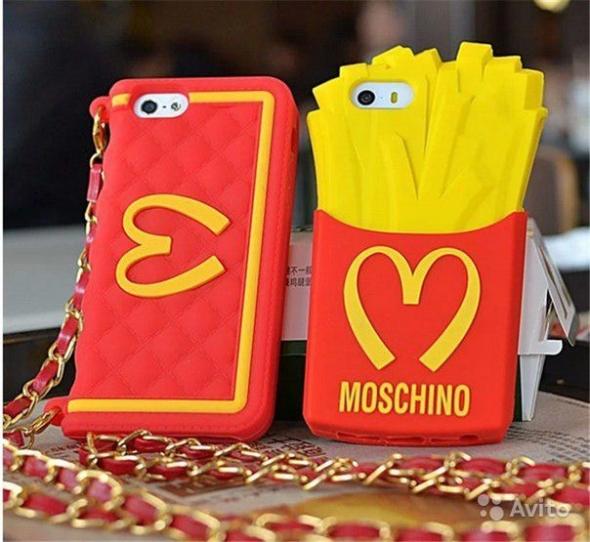 чехол для телефона iphone 5,арт. 7118 moschino