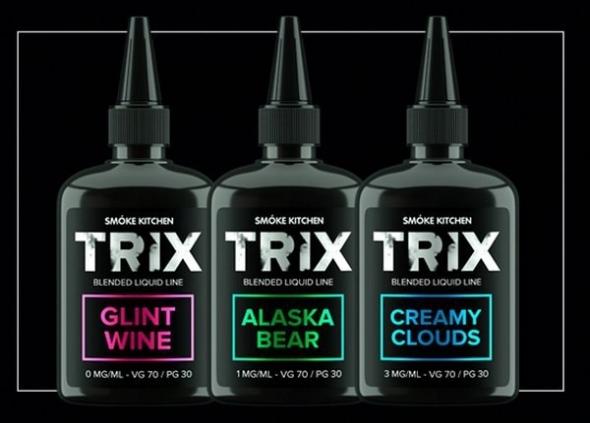 """Жидкость для Электронных сигарет """" TRIX"""" 3 мг.,100 мл."""