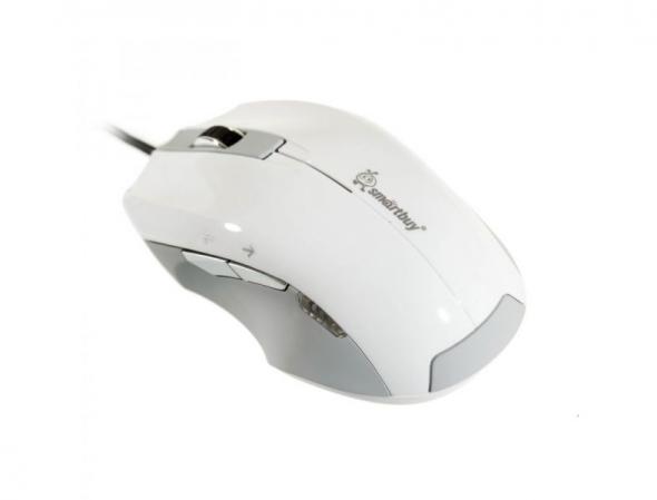 Мышь проводная  Smart Buy 503, белая