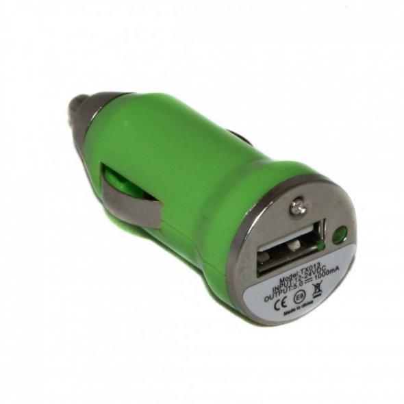 азу автомобильный адаптер  1x USB, 1 А с рисунком