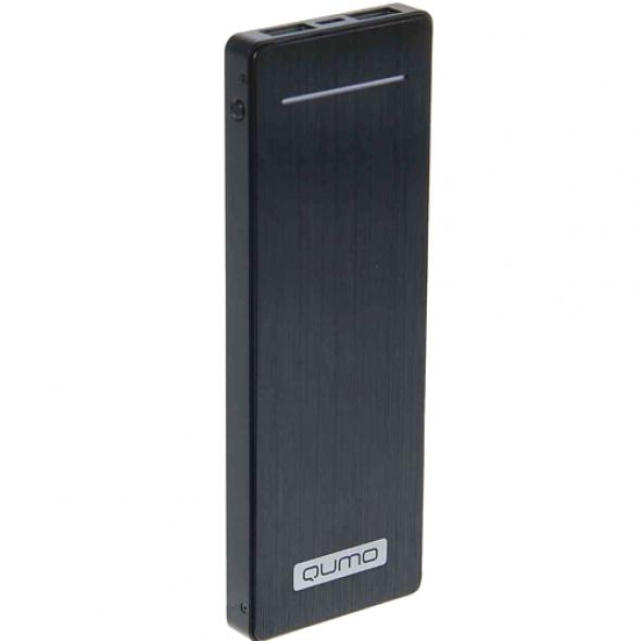 qumo poweraid slim titan 9000 mah резервная батарея (год гарантии)