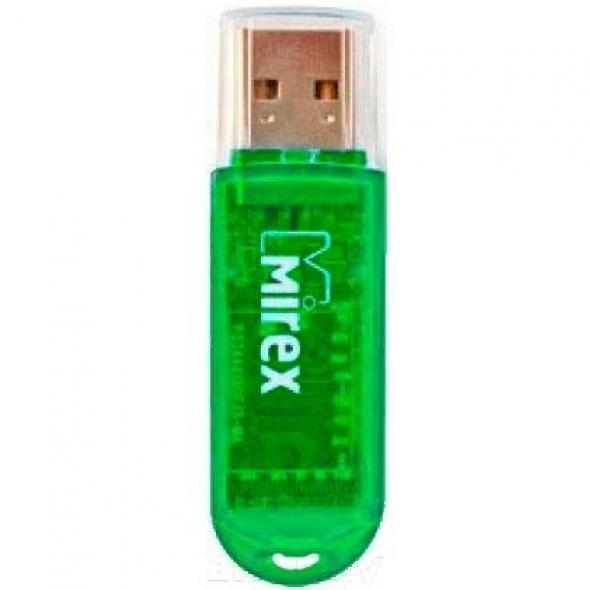 Флеш-накопитель USB 8 gb Mirex ELF зеленый