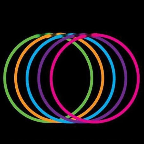 Светящая полочка Ожерелье 55 см. ассорти 3 шт.