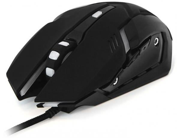 Мышь CBR CM 853 Armor, черная, игровая, USB