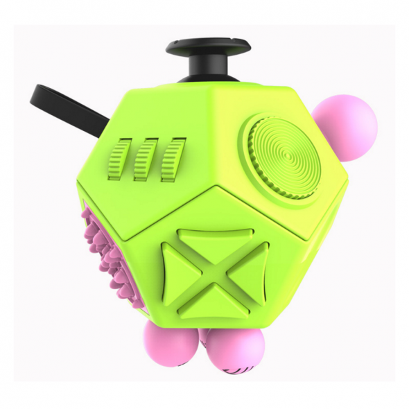 игрушка антистресс кубик-Fidget cube advance зеленый