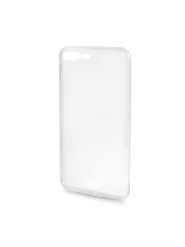 задняя силиконовая прозрачная крышка iphone 4