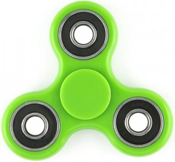 Spinner ( Спиннер ) антистресс пластик зеленый
