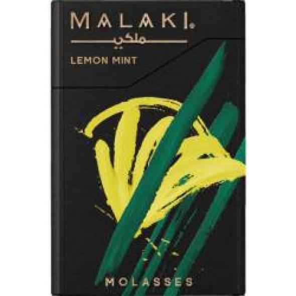 """Табак для кальяна """" malaki """"  Lemon mint"""