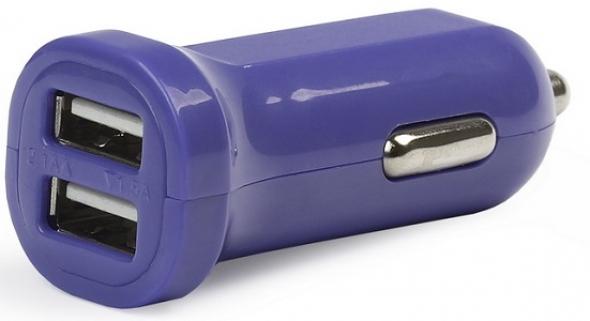 Автомобильное зарядное устройство SMARTBUY CAR CRAFT, синее