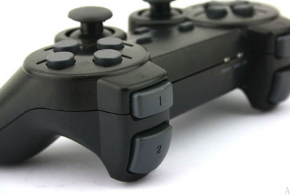 джойстик PS3/PS2/PC Wireless controller black беспроводной