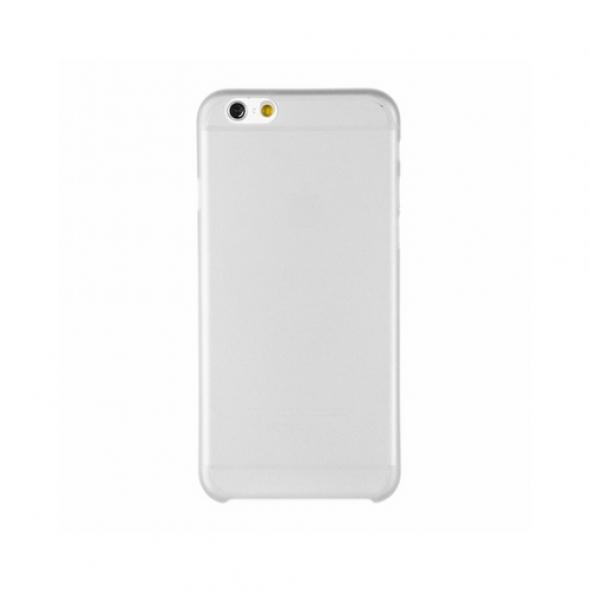 чехол накладка пластиковая  iPhone 6s /  iPhone 6 матовая без логотипа белая Пуск