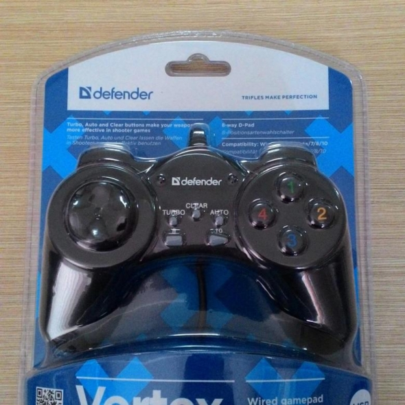 Геймпад DEFENDER Vortex USB