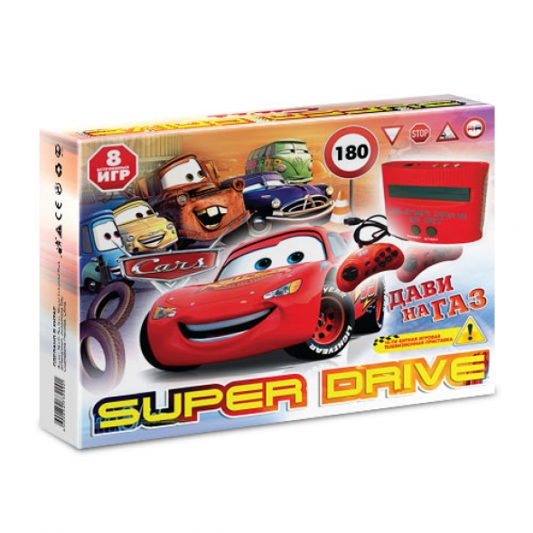 Игровая приставка sega super drive car ( сега супер драйв кар)