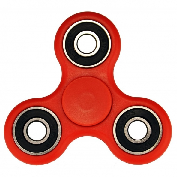 Spinner ( Спиннер ) антистресс красный