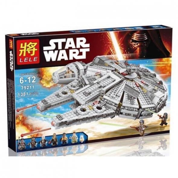 конструктор Lele (LEGO) Star wars (стар варс) сокол тысячелетия