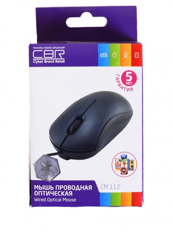 проводная мышь CBR CM-112