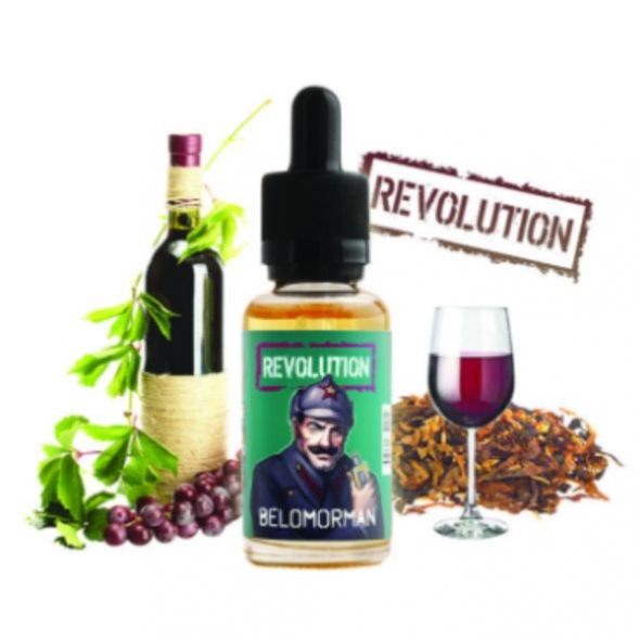 """Жидкость для Электронных сигарет """" Atmose revolution"""" Belomorman никотин 3 мг"""