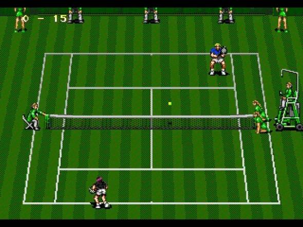 картридж (касcета) на SEGA (сега) Wimbledon championship tennis