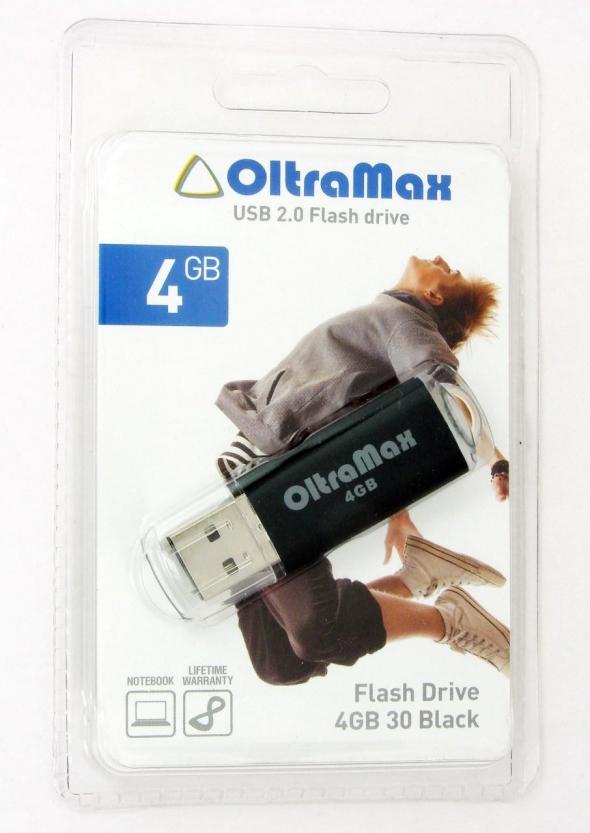 Флеш-накопитель USB 8 gb OltraMax 30 синий