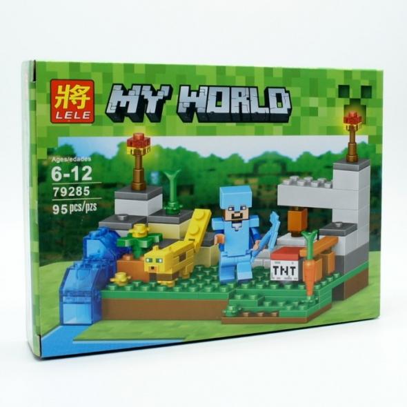 конструктор Lele (LEGO)  Minecraft (майн крафт)