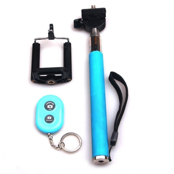 monopod with bluetooth remote z07-1 zt синий