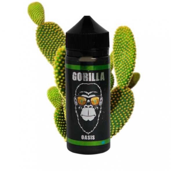 """Жидкость для Электронных сигарет """" Gorilla Oasis """" 120  мл.,0,3 мг."""