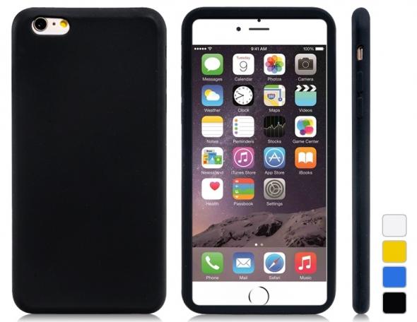 чехол силикон iPhone 6 (угольный)