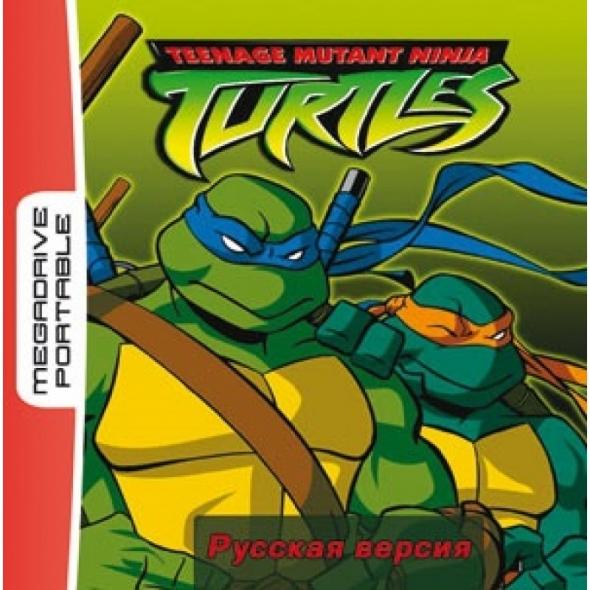 картридж ( кассета )  для MD Portable ( megadrive portable )  Turtles return