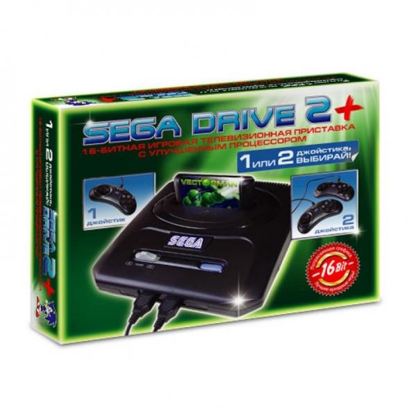 Игровая приставка Sega Super Drive 2 (супер драйв 2 сега)