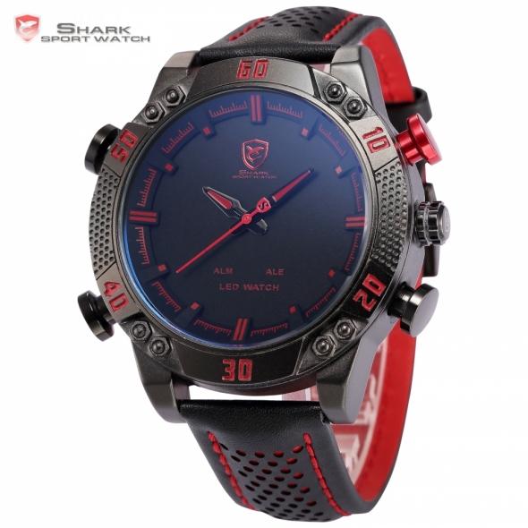 Часы Shark Sport Watch красные