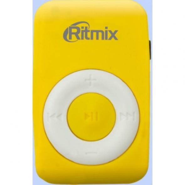 Плеер МР3 Ritmix RF-1010 жёлтый