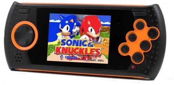 Игровая портативная приставка SD Portable 20 в 1 Orange