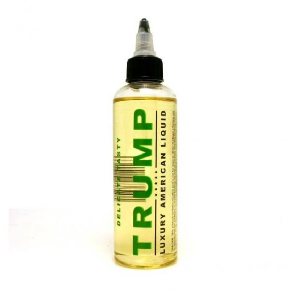 """Жидкость для Электронных сигарет """" Trump"""" Delicate tasty емкость 120 мл, никотин 3 мг"""