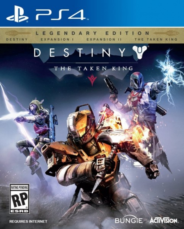 Destiny: The Taken King. PS4