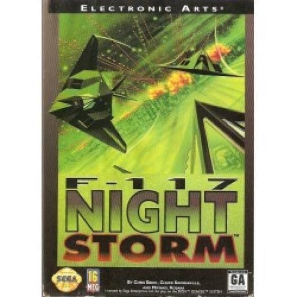 картридж (касcета) на SEGA (сега) F-117 night storm