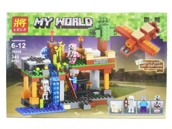 конструктор Lele (LEGO) Minecraft (майн крафт) воздушная гавань