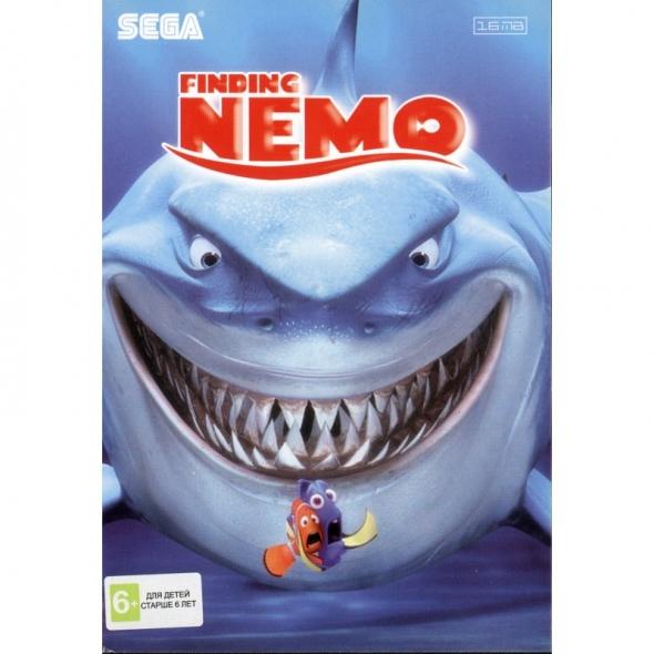 """картридж (касcета) на SEGA (сега) finding nemo """"Поиски Немо"""""""