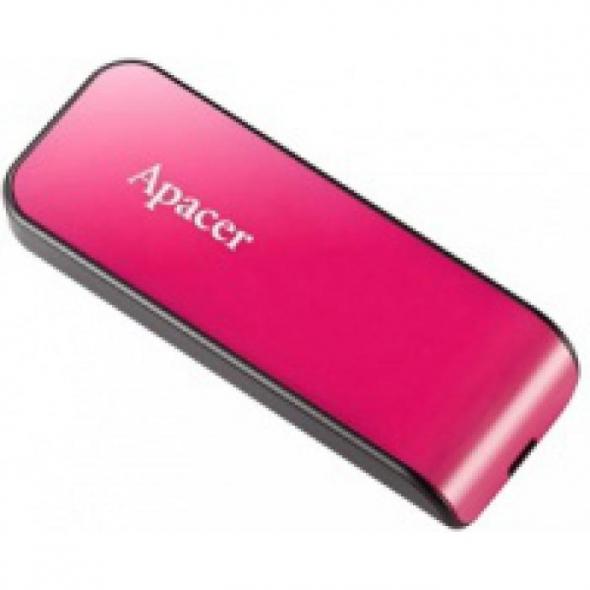 Флеш-накопитель USB  8GB  Apacer  AH334  розовый