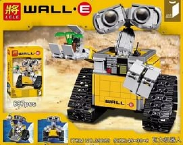 конструктор Lele (LEGO) Walle (валли робот)