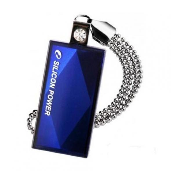 Флеш-накопитель USB  32GB  Silicon Power  Touch 810 синяя