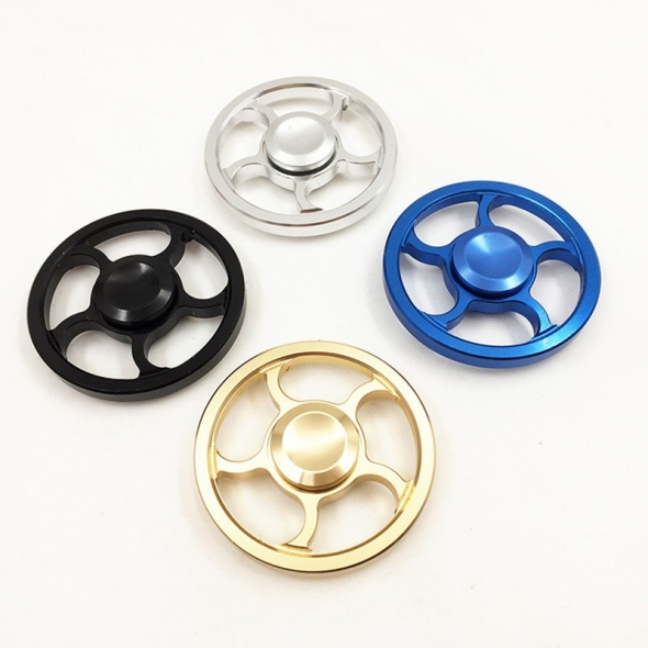 Spinner ( Спиннер ) антистресс металлический 009968 черный