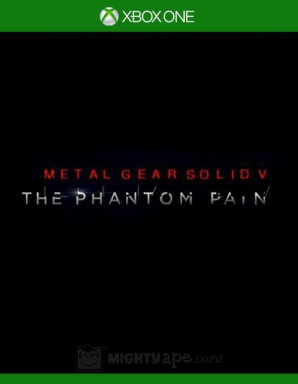 metal gear solid v the phantom pain X-BOX ONE