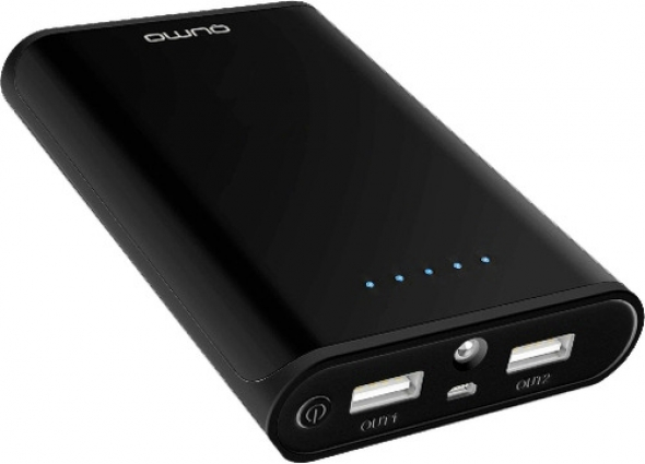 резервная батарея QUMO PowerAid 20800, чёрный