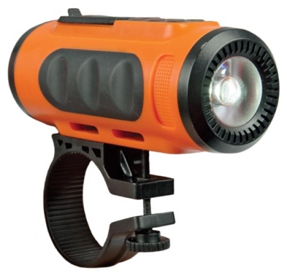 беспроводная , портативная mp3 колонка Ritmix SP-520BC оранжевый / черный