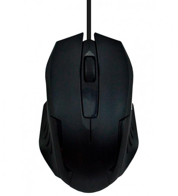 Мышь проводная  OXION OMS015BK, черная